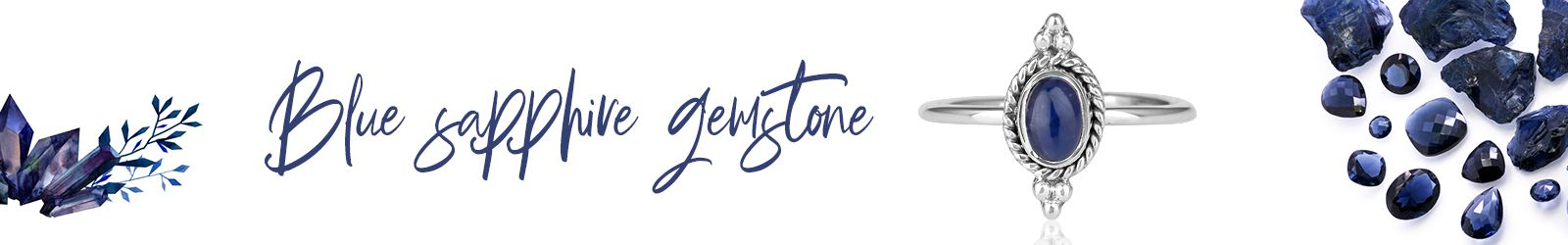 Wholesale Natural Blue Sapphire Jewelry Manufacture, Supplier in Jaipur