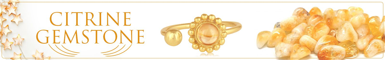 Wholesale Natural Citrine Gemstone Jewelry Manufacturer in Jaipur