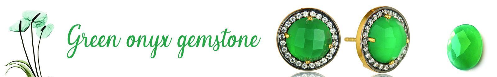 Wholesale Green Onyx Slver Jewelry Supplier, Exporter in Jaipur
