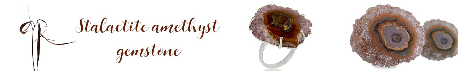 Wholesale Stalactite Amethyst Silver Jewelry Manufacturer in Jaipur