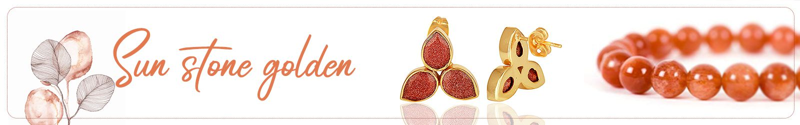 Golden Sun Stone Silver Jewelry Manufacturer and Exporter in India