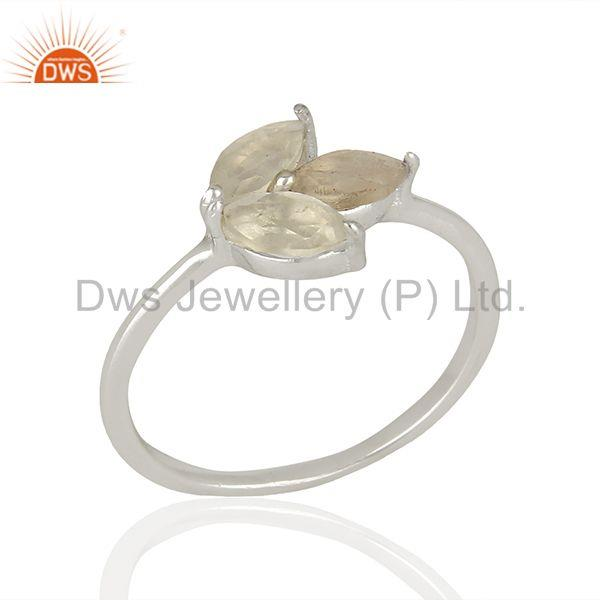 Gemstone Jewelry Ring Manufacturer