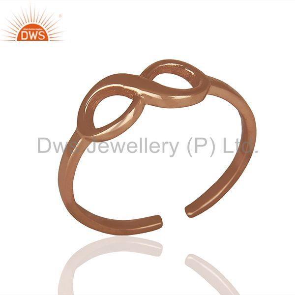 Plain Silver Jewelry Ring Manufacturer