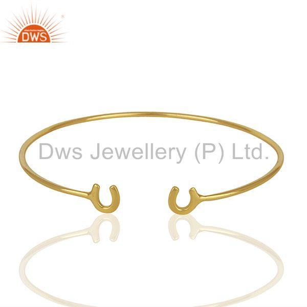 Designer Gold Plated Fashion Cuff Bracelet Manufacturer India