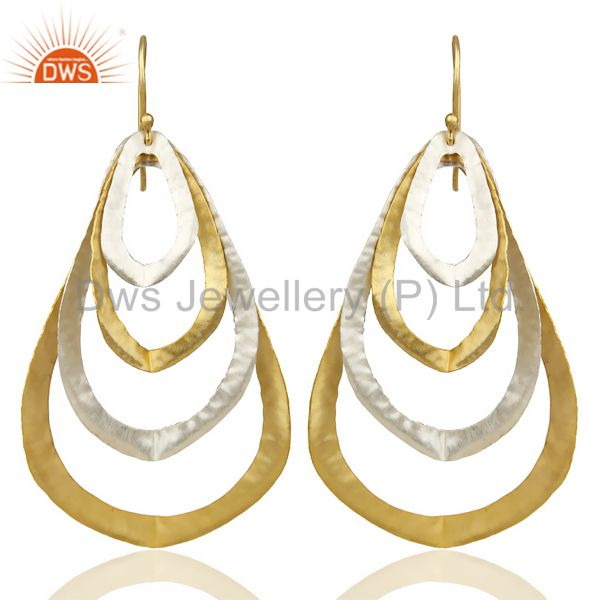 14K Gold Plated Silver Plated Traditional Handmade Fashion Dangle Earrings