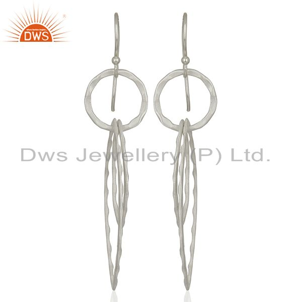 925 Sterling Silver Plated Brass Earring Jewelry Manufacturer Supplier