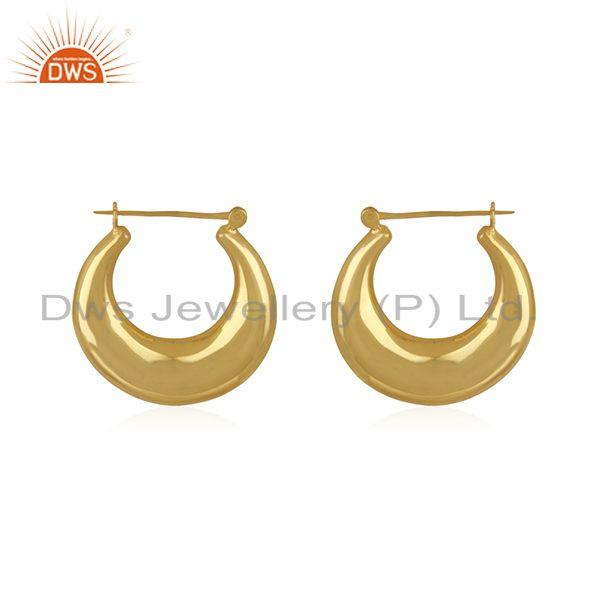 Wholesale Chand Bali Brass Fashion Hoop Earrings Jewelry