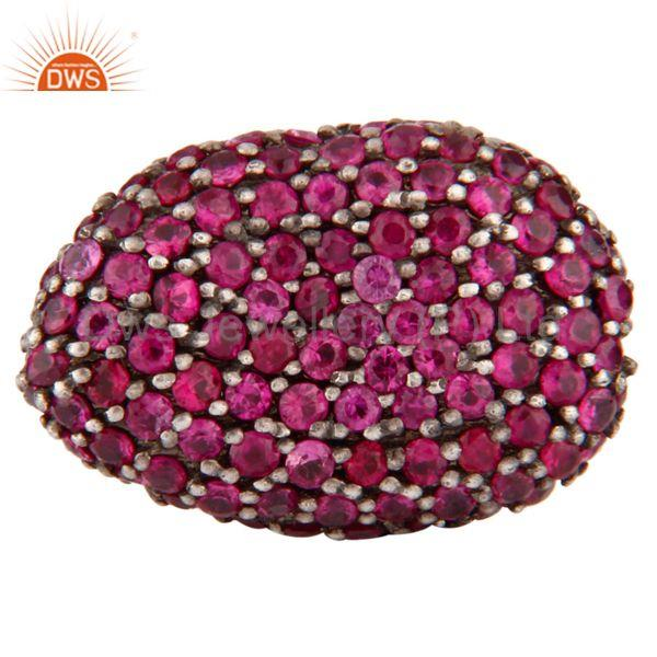 Natural Ruby Gemstone Jewelry Findings Beads Supplier Jewelry