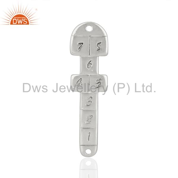 925 sterling fine silver fashion charm connector jewelry manufacturer