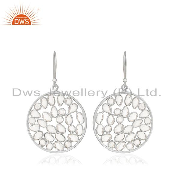 Fine 92.5 Sterling Silver Filigree Design Earrings Manufacturers