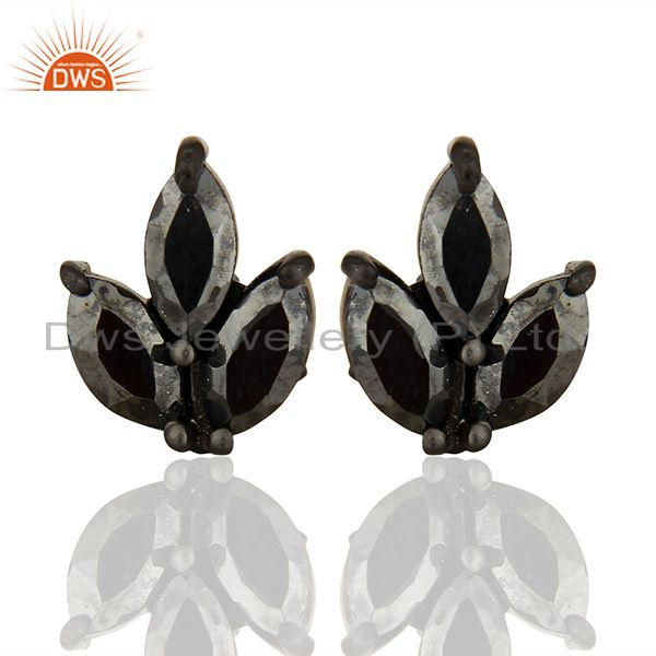 Handmade 925 Sterling Silver Girls Stud Earrings Jewelry Manufacturers