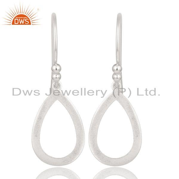 Handmade Solid 925 Sterling Silver Drop Designer Earrings