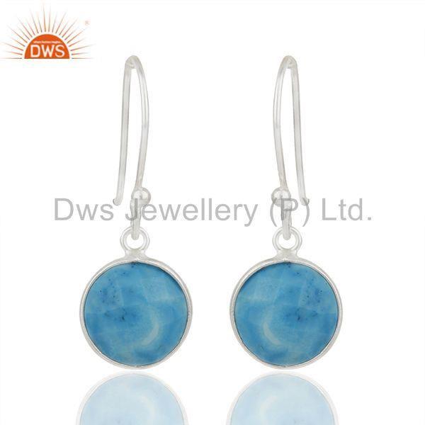 Turquoise Gemstone Sterling 92.5 Fine Silver Girls Earrings Suppliers