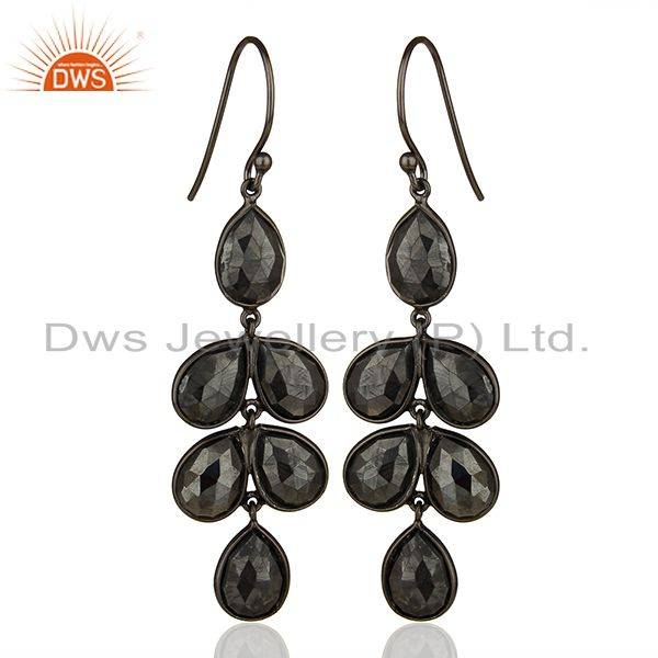 Hematitle Gemstone 925 Silver Handmade Earring Jewelry Manufacturer