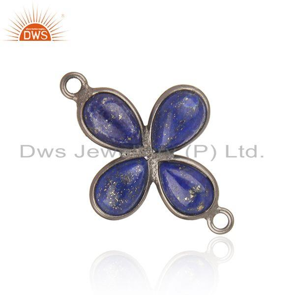 Handmade Brass Fashion Lapis Lazuli Gemstone Connector Wholesaler
