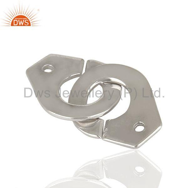 Solid 925 Sterling Silver Connector Jewelry Findings Manufacturer