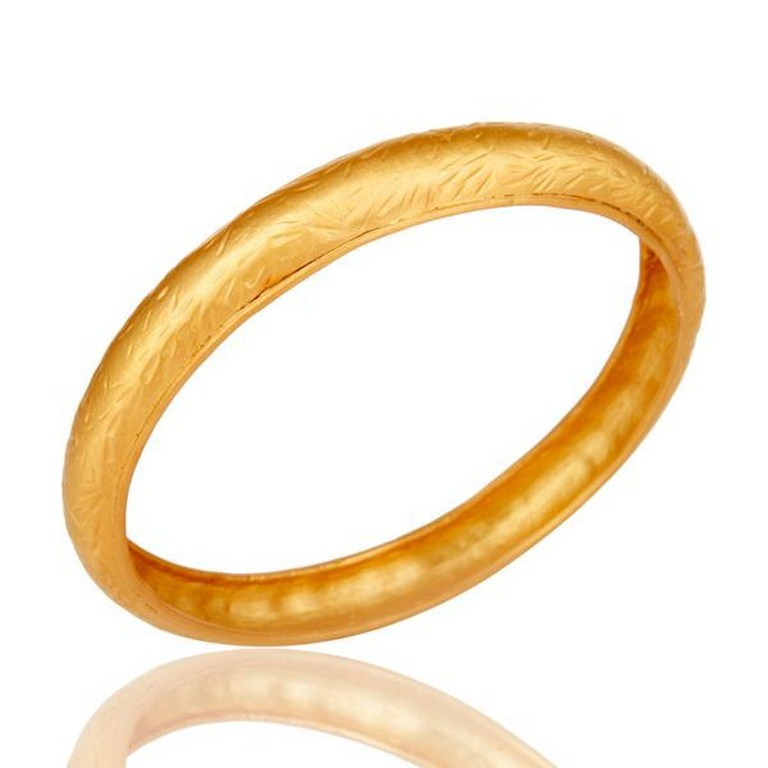 18k Gold Plated Traditional Handmade Design Brass Bangle Jewellery