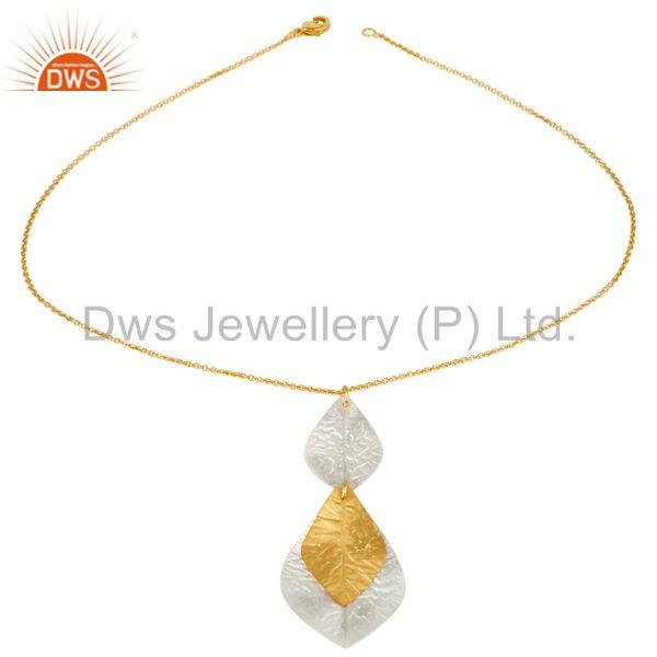 Handmade Multi Color Plated Chain Necklace Jewelry Manufacturer