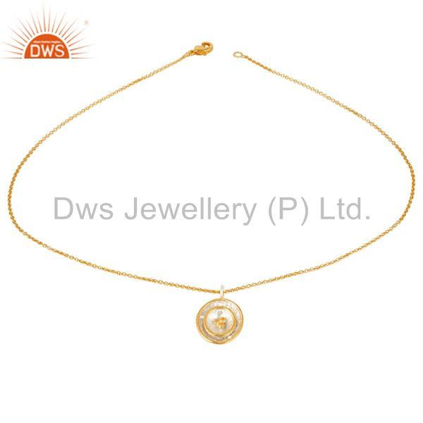 Multi Circle Brass Fashion Pendant Jewelry Manufacturer