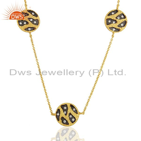 Indian Traditional Gold Plated Women Wedding Wear Necklace Jewelry