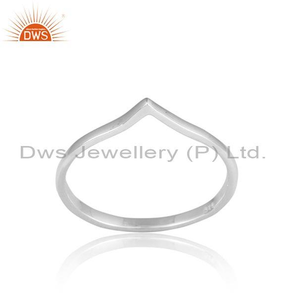 Handmade Fine Sterling Silver Casual Designer Statement Ring