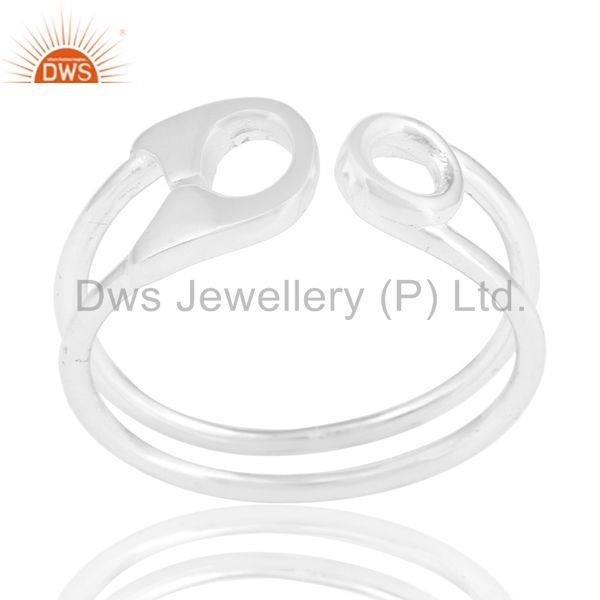 Plain Fine Sterling 92.5 Silver New Designer Rings Manufacturers