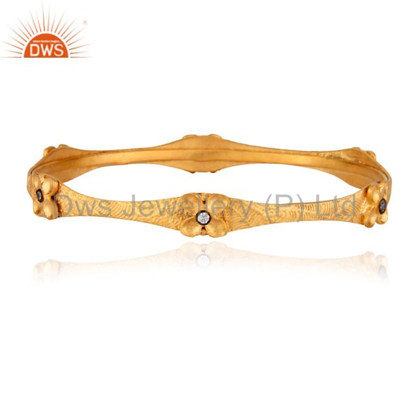 Fantatsic Handmade Designer Simulated Diamond Engagement Wedding Bangle ~ Looks