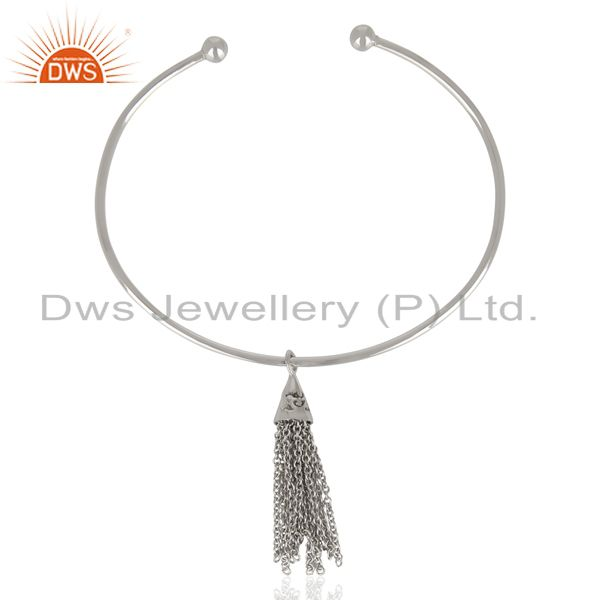 European Screw Fill Open Beads With Charms 925 Sterling Silver Bangle