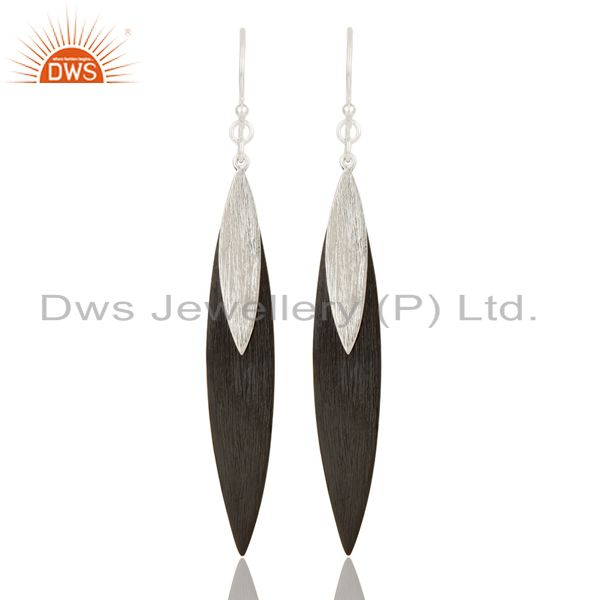Mind Blowing Solid 925 Sterling Silver Handmade Simple Design Drops Earrings