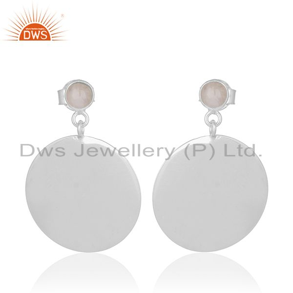 Handmade 925 Sterling Silver Gemstone Earrings Wholesale Supplier of Jewelry