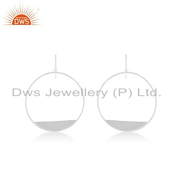 Handmade 925 Sterling Fine Silver Teenage Girls Earrings Jewelry Manufacturer