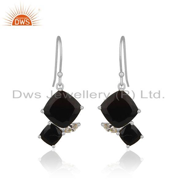 New Designer Sterling 92.5 Silver Earrings Manufacturer from India