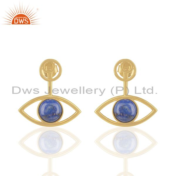 14k Gold Plated Sterling 92.5 Silver Gemstone Earrings Manufacturers
