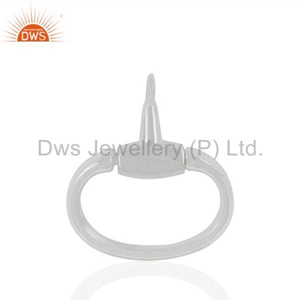 Fine Sterling 925 Silver Jewelry Connector Findings Manufacturer