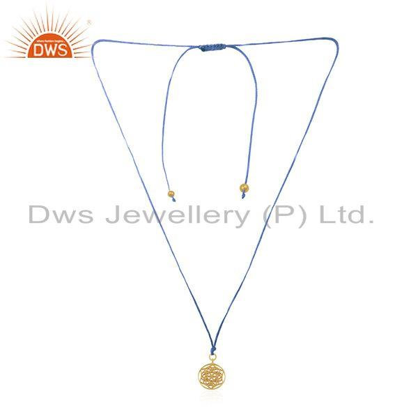 Gold Plated Sterling 925 Silver Gold Plated Designer Pendant Suppliers