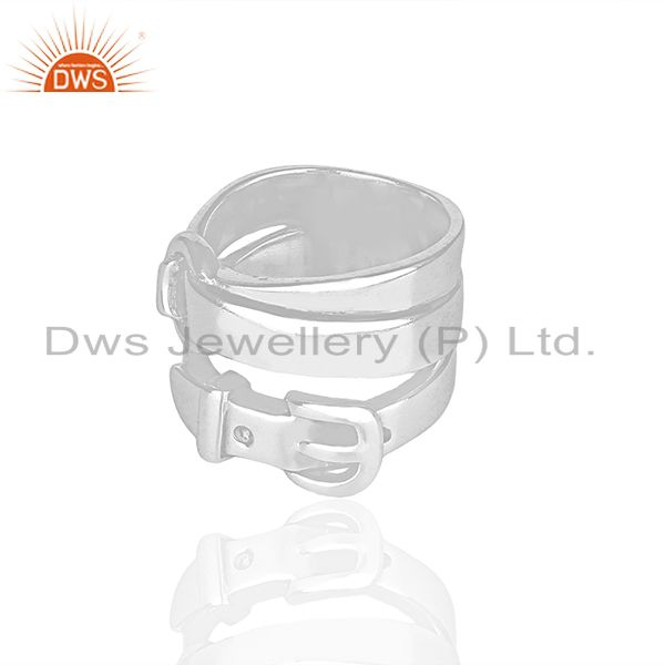 Debridee 92.5 Sterling Silver Ring Band Wholesale Jewelry