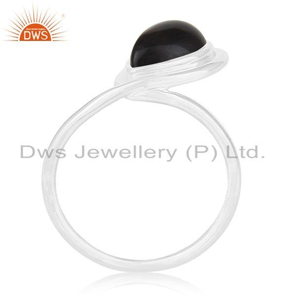 Smoky Quartz Gemstone Sterling Silver Designer Ring Private Label Jewelry