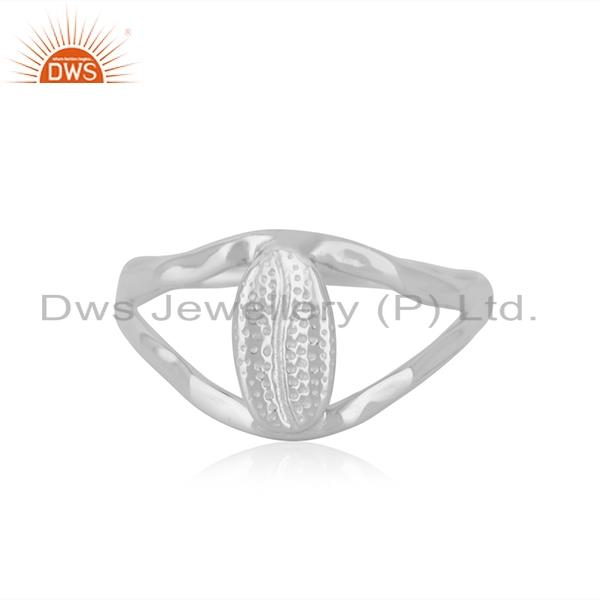 Indian Handcrafted Fine 92.5 Sterling Silver Ring Manufacturer in India