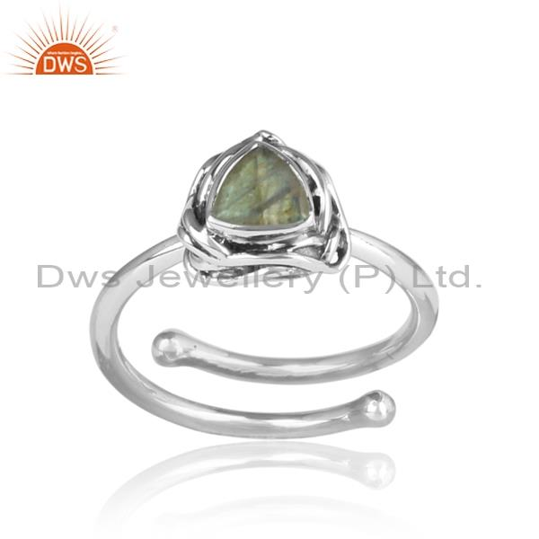 LABRADORITE set sterling silver ring for all sizes