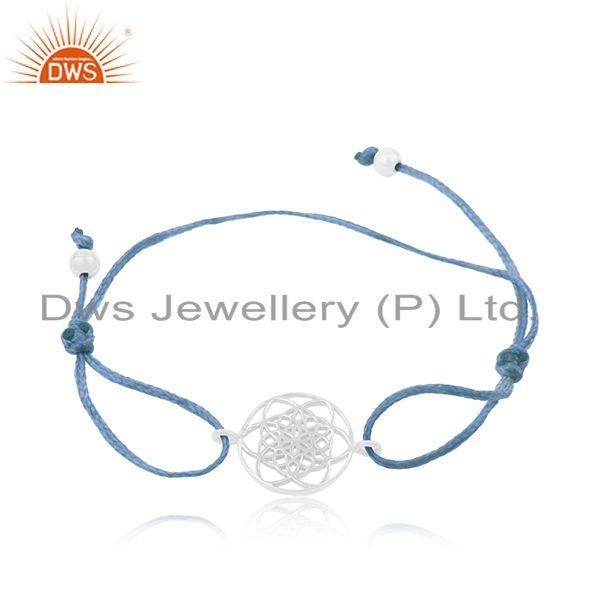 925 Fine Sterling Silver Designer Adjustable Bracelet Manufacturer