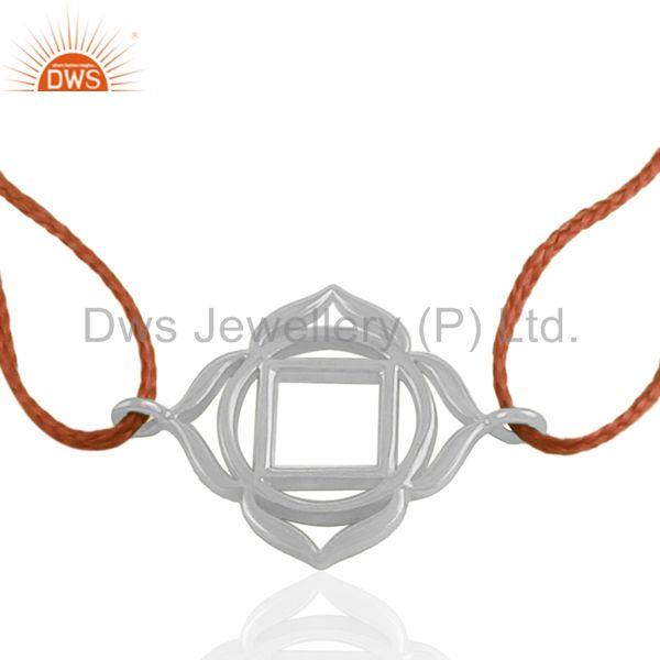 925 Sterling Plain Silver Charm Bracelet Jewelry Manufacturer India