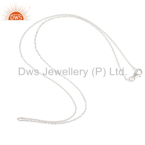 Solid Sterling Silver Chain Jewelry Assesories Findings