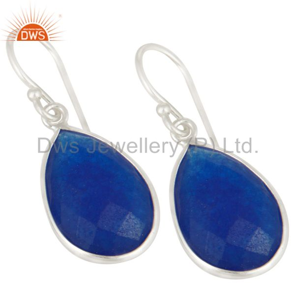 NaturalAventurine Natural Blue Quartz earring Gemstone Jewelry