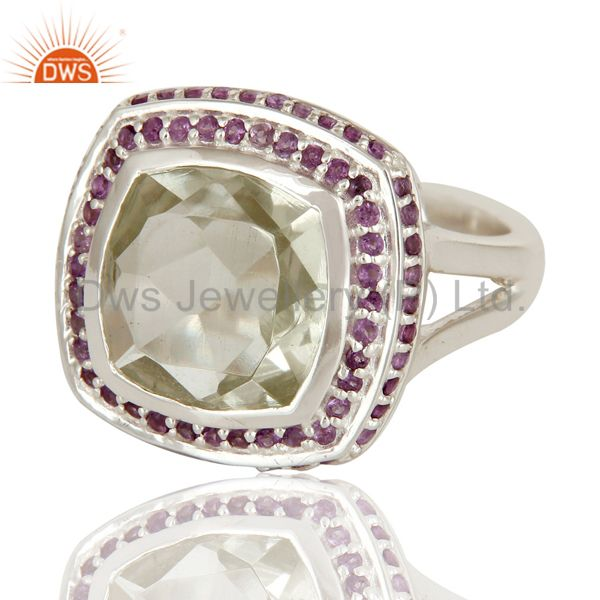 Designer Green Amethyst Ring Suppliers