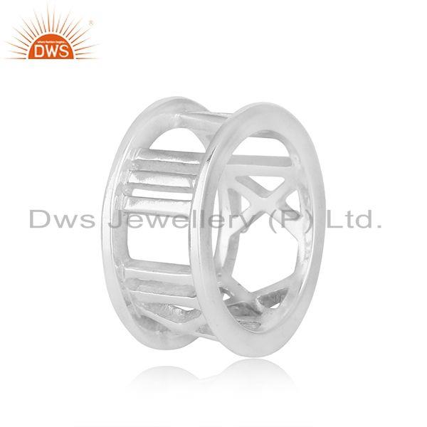 Supplier of Roman Numeral 925 Sterling Silver Wholesale Jewelry