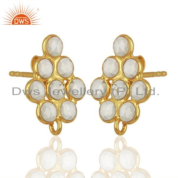 White Zircon Jewelry Findings Supplier