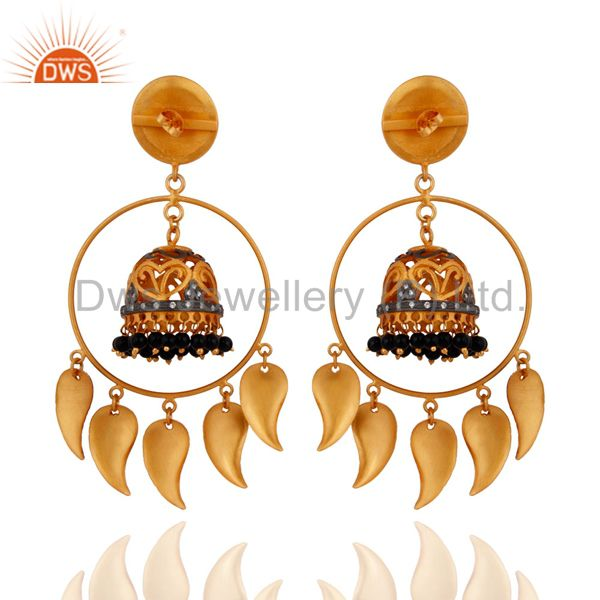 Exporter Gold Plated Traditional Handmade Earring