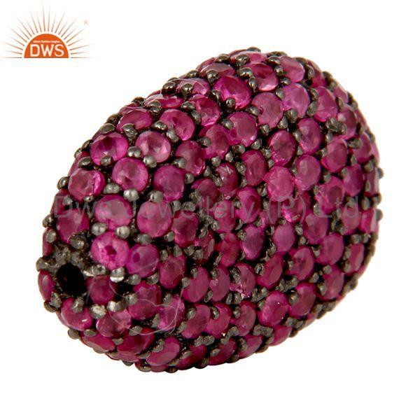 Exporter Natural Ruby Gemstone Jewelry Findings Beads Supplier Jewelry