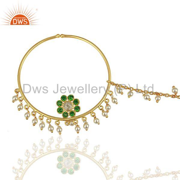 Exporter Traditioanl Gold Plated 925 Silver Chain and Link Finding manufacturer