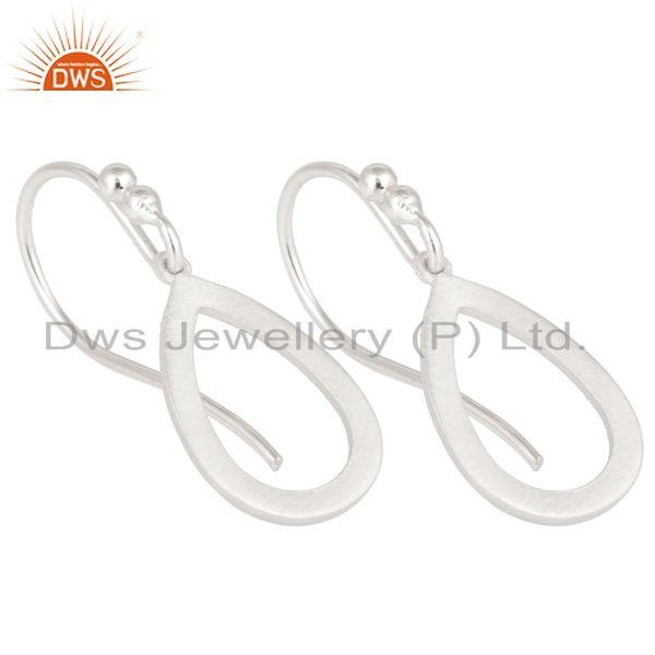 Exporter Handmade Solid 925 Sterling Silver Drop Designer Earrings